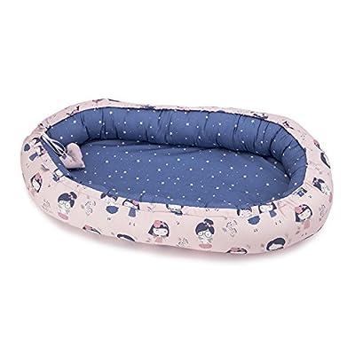Sevira Kids - Nido bebé - cocoon colecho reductor cama - multi utilizar y reversible - diferentes color