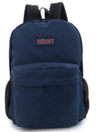 enknight Casual Scuola Zaini Laptop Bag zaino schoolbags, Navy