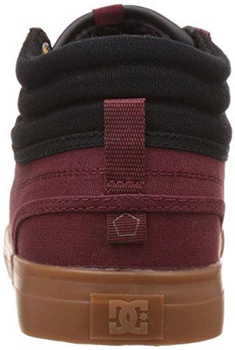 DC Shoes Evan Smith Hi, Espadrilles Homme Burgundy