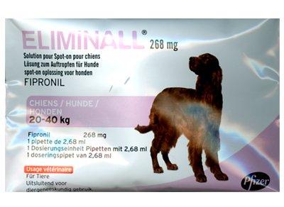 pfizer-eliminall-chien-20-40kg-3-pipettes-generique-frontline
