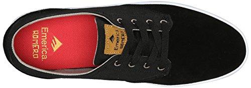 Emerica The Romero Laced, Herren Skateboardschuhe black/tan