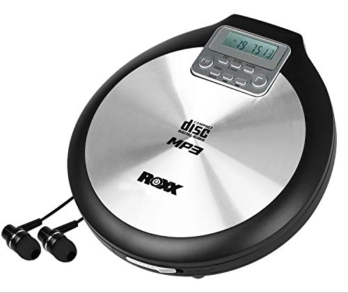 ROXX Discman tragbarer MP3 CD-Pl...