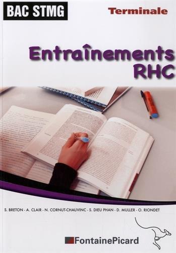 Entraînements RHC Tle STMG