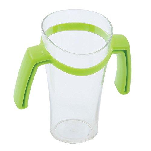 Nosey Cup con asas, transparente