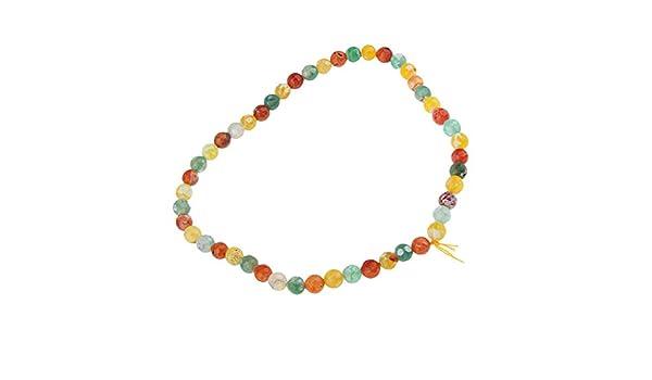 14mm Baoblaze 30x Perles dEspacement C/éramiques Cabochon Breloques pour Fabrication de Bijoux Colliers Bracelets Boucles doreilles
