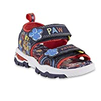 ACI International Nickelodeon Boys Paw Patrol Summer Sport Sandal with Chase and Marshall (11 M US Toddler) Blue