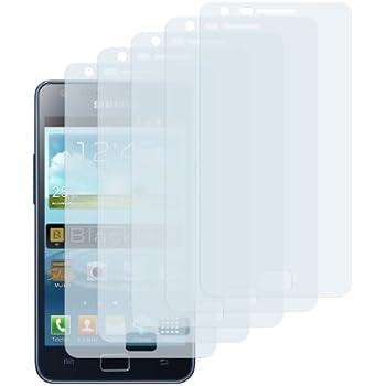 5x mumbi Displayschutzfolie Samsung Galaxy S2 Plus Schutzfolie - NICHT Galaxy S2 ohne PLUS