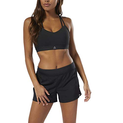 Reebok Damen Workout Ready Woven Shorts, schwarz, Small -