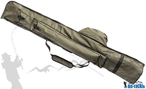 DD-Tackle Rutenfutteral 12ft 195cm für 3 montierte & 3 unmontierte Karpfen Ruten