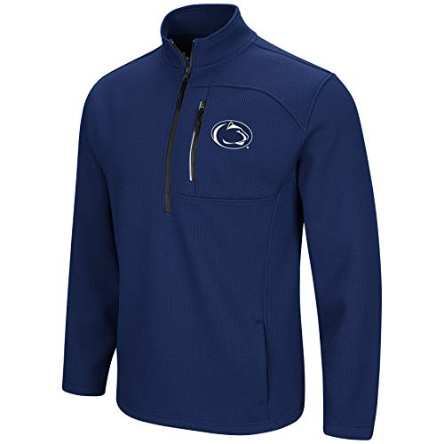 Colosseum NCAA-Townie-Herren-Pulloverjacke mit 1/2 Reißverschluss, Herren, Penn State Nittany Lions, Large