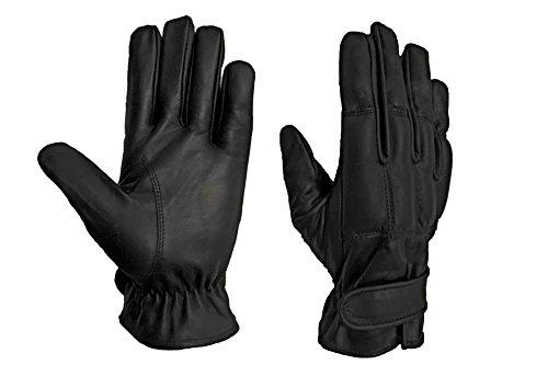 Security Quarzsand Handschuhe Echt Leder Defender auch mit Kevlar Schnittschutz Preis (L, Handschuhe ohne Kevlar)