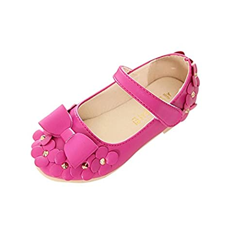 Ouneed® EU 21-30 Fille Cuir Mary Jane Chaussures Ete (21,