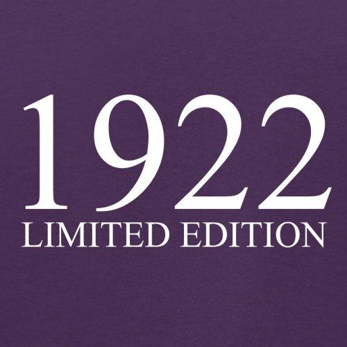 1922 Limierte Auflage / Limited Edition - 95. Geburtstag - Herren T-Shirt - 13 Farben Lila
