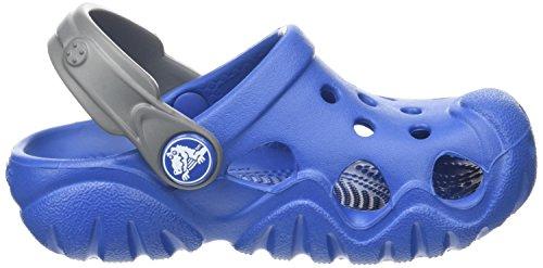CrocsSwiftwater K - Zoccoli Unisex per bambini Blu (Blue Jean/slate Grey)