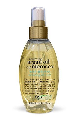 OGX Renewing Weightless Reviving Dry Moroccan Argan Oil, 1er Pack (1 x 118 ml)