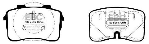 EBC DP3883C Front Brake Pads