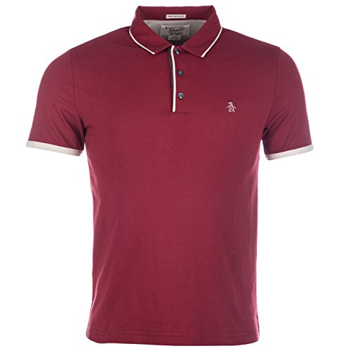 mens-original-penguin-mens-tri-colour-mearl-eu-slim-fit-polo-shirt-in-burgundy-l