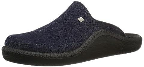 Romika Mokasso 215, Herren Pantoffeln, Blau (darkdenim 519), 42 EU