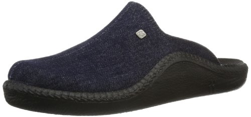 Romika Mokasso 215, Pantofole uomo, Blu (Blau (darkdenim 519)), 40