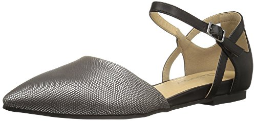 CL by Chinese Laundry Damen Helena Pewter/Black Lizard 40 M EU -