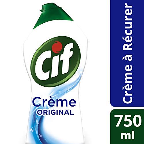 CIF Crème à Récurer Original, Nettoyant Multi-Surfaces (Lot de 2x750ml)