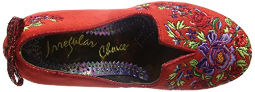 Irregular Choice Bloom Beauty, Escarpins femme Rouge