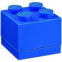 Lego RCL MB4 BL Lunch Box 4, Plastica, Blu, 4,6 x 4,6 x 4,3 cm