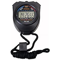 Superbe Minuteur/compteur de chronographe/chronomètre numérique professionnel à écran LCD