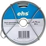 Ehs 7643K2 - Alambre Galvanizado Con Disp 0,7Mmx80M Ehs