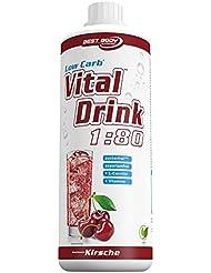 Best Body Nutrition Vital Drink, Kirsche, 1000ml Flasche