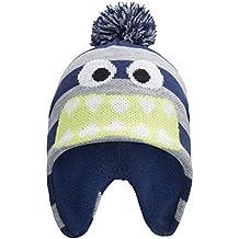 Mountain Warehouse Gorro Monster para niños Azul marino Talla única