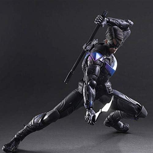 QYSZYG PA Changer Batman Dark Dark Dark Knight Night Wings Carré Mixte Mobile 27cm modèle Statue Anime décoration   à L'aise  31fbe0
