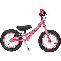 Prometheus 31cm (12 pulgada) Bicicleta sin pedales para niños con sillin regulable  12 BMX Edición   Rosa / Rojillo & Blanco