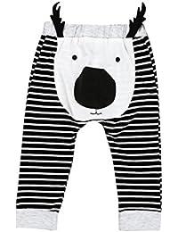 Ouneed® 6- 24 mois Bebe Motifs Pantalons en coton