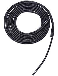 Saron- Laces de encerados, colores, multicolores, redondas - Zapatos de cordones para Business. 110~200 cm de largo, 2.0~2,5 mm de diámetro