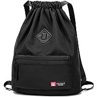a00583ba7d Risefit Fashion casual borsa morbida con tasca anteriore e posteriore,  impermeabili, borsa da palestra