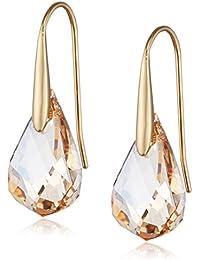 Swarovski Damen-Ohrhänger Energic Ohrringe Kristall gold 3 cm - 5195920