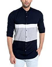 Campus Sutra Men Full Sleeve Casual Shirt