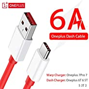 Mobile Phone Cables - Oneplus 7 pro 7 Original Warp Quick Charger cable 6A Dash Fast USB Type-C data cable for