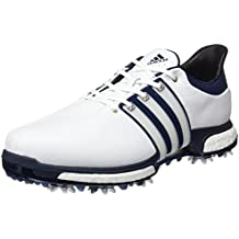 huge selection of afe92 01a8c adidas Tour360 Boost Zapatos de Golf, Hombre, BlancoAzulPlata, 44