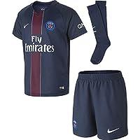 2016-2017 PSG Home Nike Little Boys Mini Kit