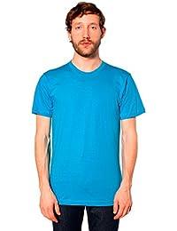 American Apparel Men's Unisex Fine Jersey Short Sleeve T-Shirt