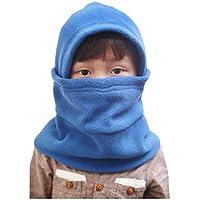Boboder Invierno de los niños Caliente Pasamontañas Exterior Polar a Prueba de Viento Sombrero de Esquí Ciclismo Tapas de la máscara de Cara Completa para niños Unisex