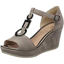 Stonefly Marlene II 11 Velour, Zapatos con Tacon y Tira Vertical para Mujer