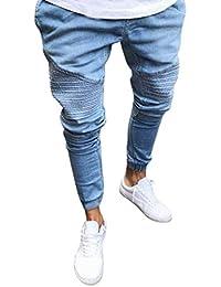 0d49a2bb3d Amazon.it: Bianco - Jeans / Uomo: Abbigliamento