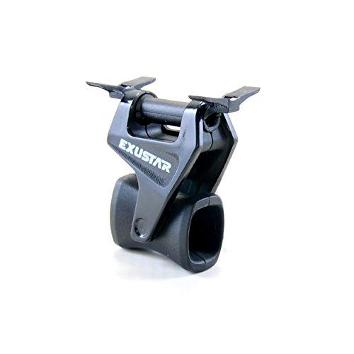 Exustar Kettenführung, Aus Hochwertigem Nylon, Geeignet Für 1-3-fach Kettenradgarnituren, schwarz (Fahrrad Kettenführung)