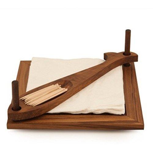 OnlineshoppeeÆ Wooden Servilleta Napkin Holder Tissue Holder