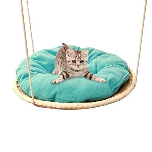 shewt Katze Hängematte Stroh Katze Klettergerüst Einzigartige und neuartige Design Haustier Bett Kissen Abnehmbare Maschinenwäsche Zusammenbaubar