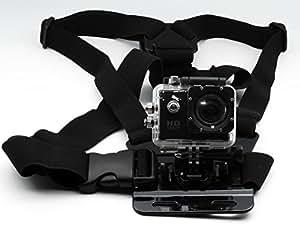QUMOX zubehör Einstellbare elastische Brustgurt Berg Harness für SJ4000 SJ5000 Sport-Kamera