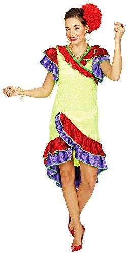 Brasilianerin Gabriella Kostüm für Damen Gr. 44 - Samba Kostüm Brasilien